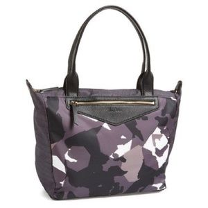 Sam Edelman Large Camo Nylon Full Zip Tote Bag